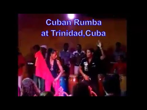 Cuban Rumba Traditional Dance at Trinidad,Cuba  (キューバン ルンバ ダンス)