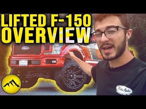 Isaac is Giving the Rundown on this #LIFTED 2019 Ford F-150 Lariat │ Krietz Customs