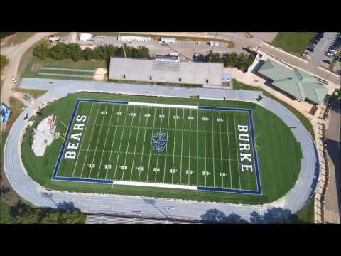 Burke County High School's New Synthetic Football Field is Nearing Completion, Get Ready Bears!