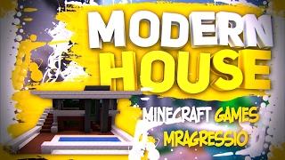 Minecraft - Как построить небольшой Modern (современный) дом в майнкрафт - Туториал