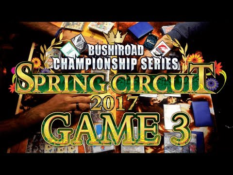Cardfight!! Vanguard: BCS 2017 Netherlands Top 4 Game 3 Commentary