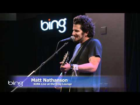 Matt Nathanson - Faster (Bing Lounge)