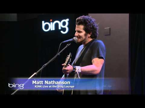 Matt Nathanson  Faster Bing Lounge