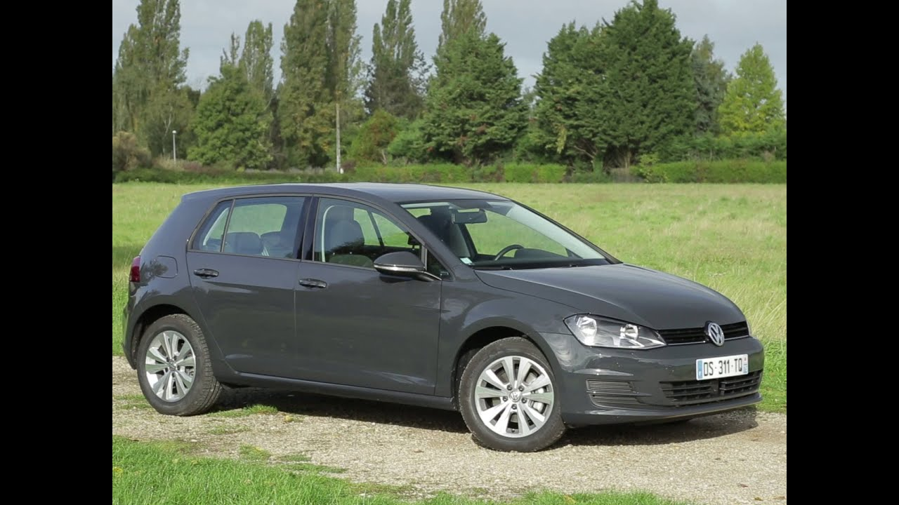 essai volkswagen golf multifuel trend 5 portes 2015 youtube. Black Bedroom Furniture Sets. Home Design Ideas