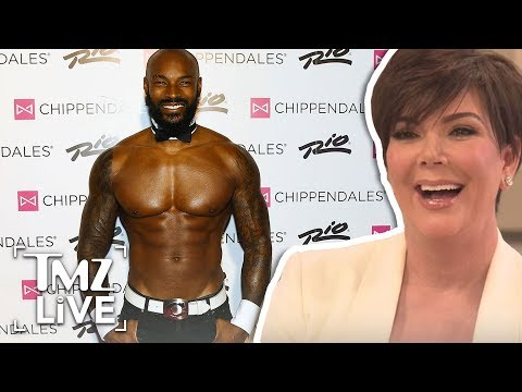 Kris Jenner Shades Tyson beckford Over Kim K Comments | TMZ Live