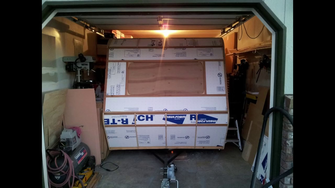How To Build A DIY Travel Trailer - Part 3 (Insulation and ...