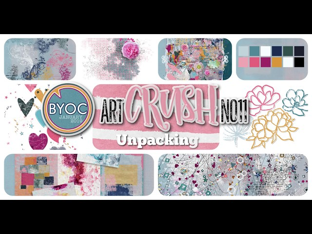 artCrush No11 Collection - UNPACKING - by NBK-Design