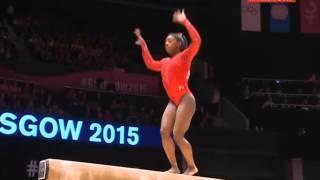 Simone Biles Чемпионат мира. Женское многоборье. Бревно.