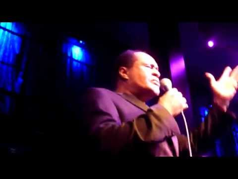 Ray Lewis (The Drifters) - Come On Over To My Place - Jazz Cafe, London - April 2015