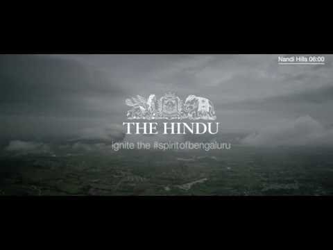 The Hindu- #spritofbengaluru I Nandi Hills