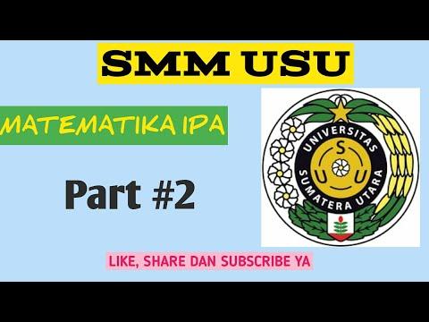 Ujian Mandiri Matematika IPA SMM USU 2017 Part 2