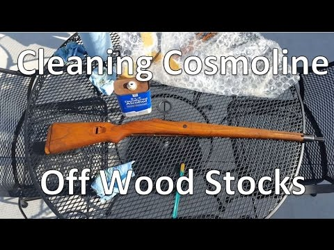 Cleaning Cosmoline off Military Surplus - Part 2