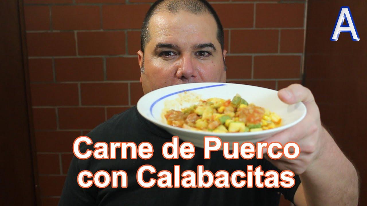 Carne de puerco con calabacitas y elote comidas mexicanas for Comidas mexicanas rapidas y economicas