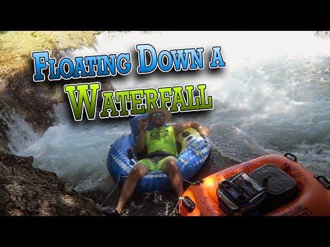 FLOATING DOWN A WATERFALL | ERIKTV365