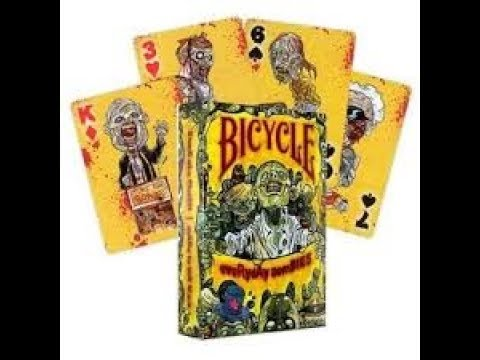 Bicycle Everyday Zombie Deck Review