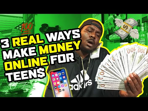 How To Make Money Online As A Teen 2021 : Teen Side Hustle Guide