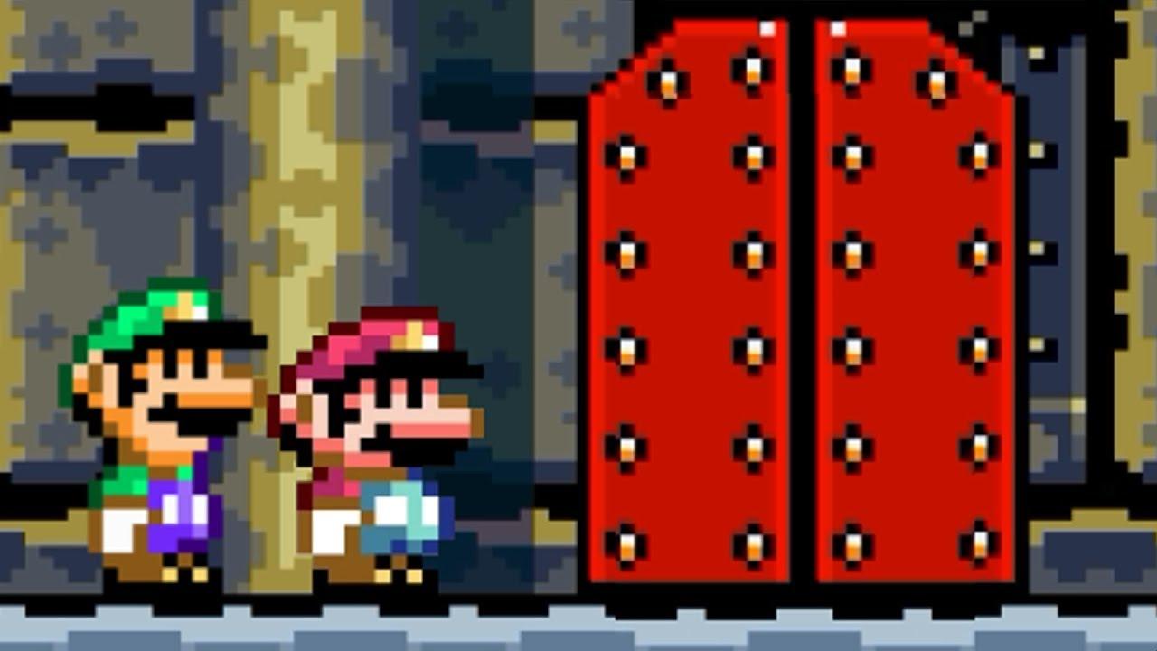 Super Mario World - All Final Castles