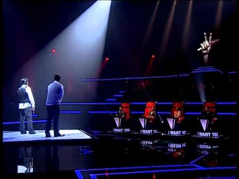 The Voice Thailand : Django,Kheang - Doraemon Song -30 Sep 2012