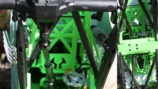 MIPtech - # 16200 Build Video, Xduty Center Drive Shafts Axial SMT10 Grave Digger / Max D