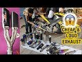 Cheap & Best Exhaust / Silencer for All Bikes (100cc to 600cc) || With Sound Testing