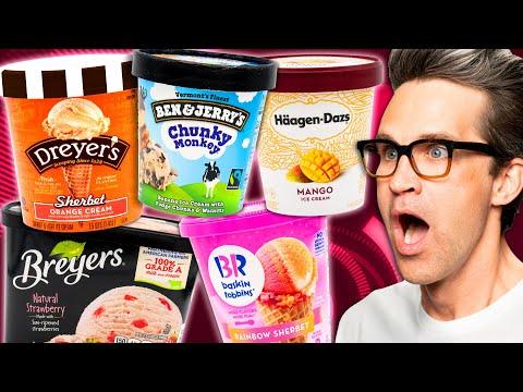 Ice Cream Taste Test Tournament: Fruit Flavors