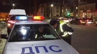 В Туле пьяный водитель маршрутки оказал сопротивление сотрудникам ДПС