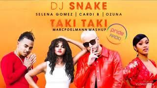 Baixar DJ Snake - Taki Taki ft. Cardi B , Ozuna & Selena Gomez [ MarcPoelmann Mashup ]