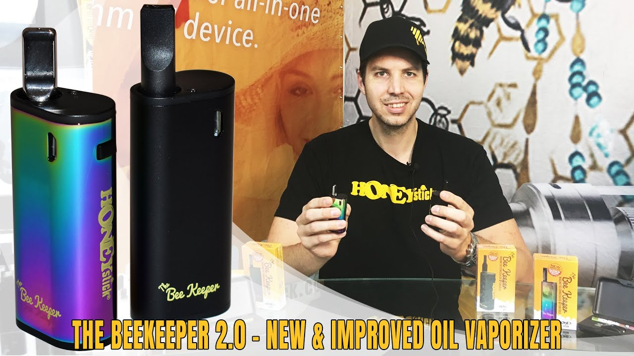 HoneyStick BeeKeeper 2 0 Oil Vaporizer | New & Improved | Best 510 Thread  Vape Concealer
