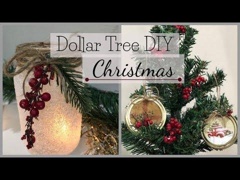 Christmas Dollar Tree DIY   2018