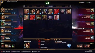 Smite PS4 madlax2 daily Game 285 Solo Que Rank