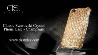 DSstyles Classic Swarovski Crystal iPhone 4/4S - Champagne Thumbnail