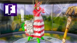 FIRST 13 Holiday Llamas! - 2018 Winter Event- Fortnite Stw | PvE