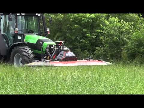 KUHN PZ Range - Mower Conditioners (In Action)