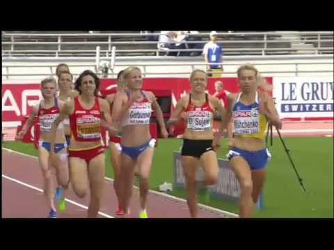 helsinki 2012 1500m womens final asli cakir 1 gamze bulut 2 turkish power