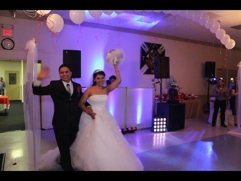 LATIN WEDDING KNIGHT OF COLUMBUS SEA CLIFF BODAS DJS MCS LIMO SERVICE PARTY