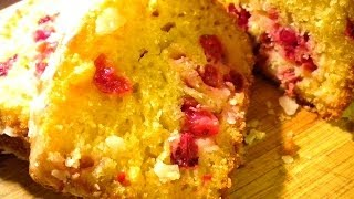 Orange Cranberry Loaf Cake