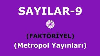 YÖS MAT-1(SAYILAR-9,Faktöriyel,Metropol Yayınları)