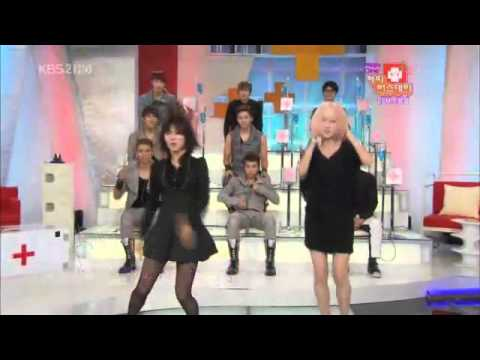 [101026] 2PM Dance To Miss A (Breathe) & Miss A dance To 2pm( Heartbeat)
