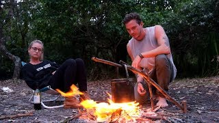 Camping Getaway in the Aussie Bush with the Girl, Some Bushcraft and Wild Edibles.