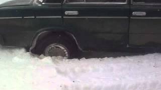 Разварот в снегу на ваз 21065