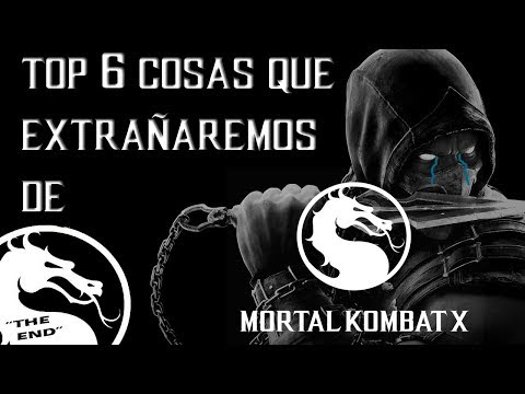 "Top 6 Cosas Que Extrañaremos De Mortal Kombat X |""The End"" thumbnail"