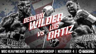 DEONTAY WILDER VS LUIS ORTIZ | PROMO