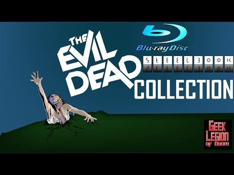 Download EVIL DEAD / ARMY OF DARKNESS : Blu-Ray Steelbook (of the dead) Collection