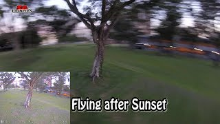 Night flying FuriBee Fuuton 200 200mm FPV Racing Drone