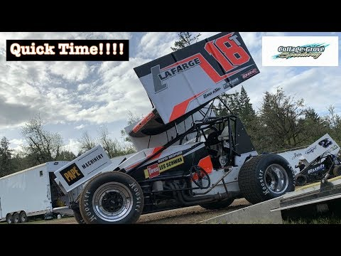 Quick Time at the Cottage Grove Speedway! (360 Sprint Car)