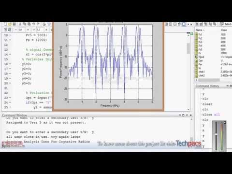 Power spectrum analysis in trending cognitive radios for allotting spectrum to users(latest Project)