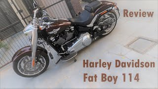 on demand Review of 2020 Harley Davidson Fat Boy 114 (IMB) it's me Bishnoi