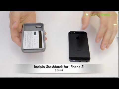 Incipio Stashback for iPhone 5 - Review - YouTube 1d98510c9