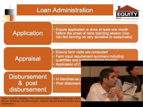 A Kenyan Bank's Philosophy on Agricultural Lending and its Approach to Farm Production Loans