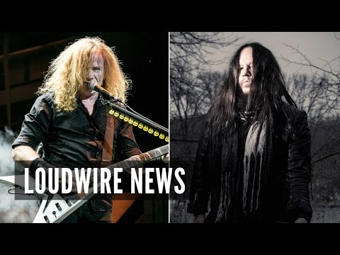 Megadeth's Dave Mustaine Joins Forces With Ex-Slipknot Drummer Joey Jordison